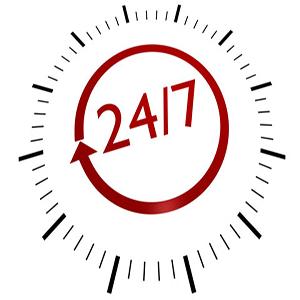 24-7 Availability