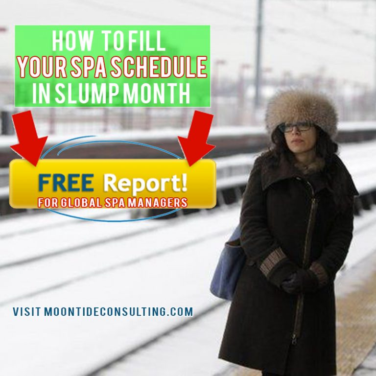 how to fill your spa schedule
